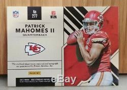 Patrick Mahomes 2017 Gold Standard Triple RPA Super Bowl MVP Auto/49 Chiefs RC