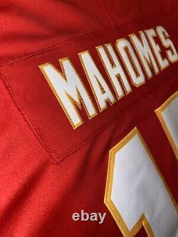 Patrick Mahomes Chiefs NFL 100th Season Super Bowl Authentic Limited Jersey L, XL
