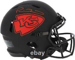 Patrick Mahomes Chiefs Signed Super Bowl LIV Champs Eclipse Authentic Helmet