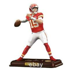 Patrick Mahomes Danbury Mint All Star Figurines Chiefs Super Bowl Mvp 22kt New