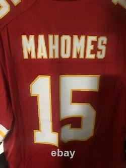 Patrick Mahomes Kansas City Chiefs Super Bowl LIV 54 Game Limited Jersey Red S