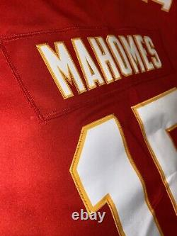 Patrick Mahomes Kansas City Chiefs Vapor Limited AUTHENTIC Jersey Super Bowl MVP