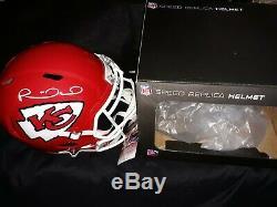 Patrick Mahomes Signed Kansas City Chiefs Full Size Super Bowl LIV Helmet Jsa
