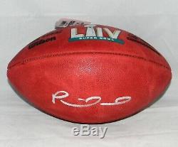 Patrick Mahomes Signed Kansas City Chiefs Official Super Bowl LIV Football Jsa