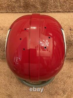 RK Vintage Style Kansas City Chiefs Football Helmet Len Dawson Super Bowl IV 4