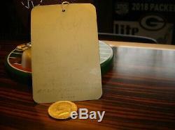 SUPER BOWL I 1 Packers vs Chiefs 1/15/67 Ticket Stub Coliseum Staff Badge GOLD