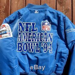 Starter 1994 Tokyo Bowl Vintage Jacket KC Chiefs vs. Min Vikings RARE Size L