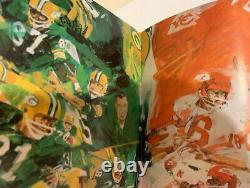 Super Bowl 1 World Championship Game AFL vs NFL Program 1967 Packers Chiefs NM+