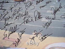 Super Bowl IV Kansas City Chiefs Signed 24x36 Art Print Stram Dawson Artis Proof