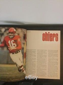 Super Bowl I Program Green Bay Packers vs Kansas City Chiefs- NFL AFL 1967