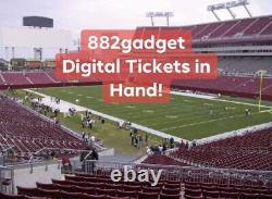 Super Bowl LV 55 Tickets One SINGLE TICKET Section 219 Chiefs Bucs 1 Ticket