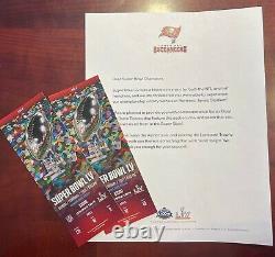 TICKET STUB SUPER BOWL LV 55 Kansas City Chiefs v Tampa Bay Buccaneers 2/7/2021