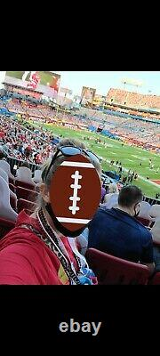 TICKET SUPER BOWL LV 55 Kansas City Chiefs Tampa Bay Buccaneers 2/7/2021
