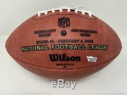 TRAVIS KELCE Autographed Chiefs Official Super Bowl LIV Duke Football FANATICS