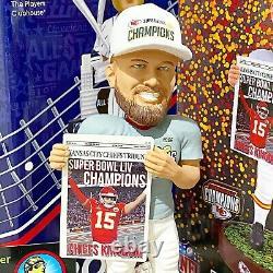 TRAVIS KELCE Kansas City Chiefs Super Bowl LIV Confetti Base NFL Bobblehead