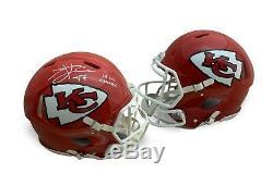 Travis Kelce Autographed Chiefs Super Bowl 54 LIV Full Size Authentic Helmet JSA