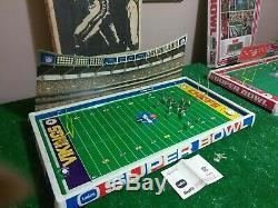 Tudor #620 38x 20 Superbowl IV Minnesota Vikings vs Kansas City Chiefs