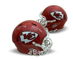 Tyrann Mathieu Autographed Chiefs Super Bowl LIV 54 Champs Full Size Helmet JSA