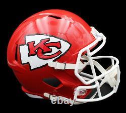 Tyreek Hill Signed Kansas City Chiefs Super Bowl Speed Full Size Red NFL Helmet