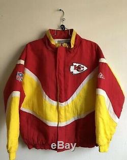 VINTAGE Kansas City Chiefs STARTER Jacket PRO LINE APEX ONE MINT XL SUPER BOWL