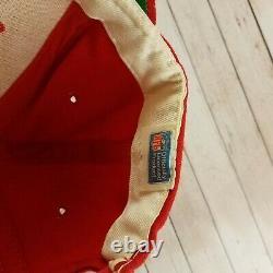 Vintage 1980s Kansas City Chiefs Sports Specialties Wool Snapback Hat