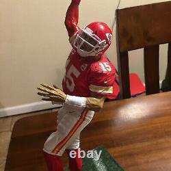 12 Inch Custom Mcfarlane Patrick Mahomes Kansas City Chiefs Avec Superbowl Ring