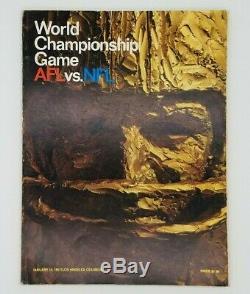 1967 Super Bowl 1 Un Programme Green Bay Packers Versus Kansas City Chiefs