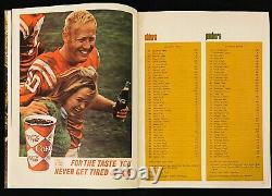 1967 Super Bowl I Championnat Du Monde Jeu Afl Vs Programme NFL Packers Chefs Rare