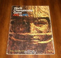 1967 Superbowl 1 Un Programme Packers Vs Chefs