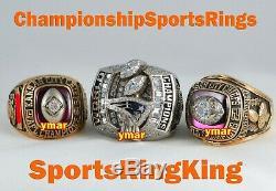 1969 Kansas City Chiefs Championnat Super Bowl Pendentif Bague En Or Top
