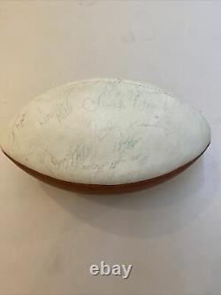 1969 Kansas City Chiefs Super Bowl Champs L'équipe A Signé Afl Game Football Jsa Coa
