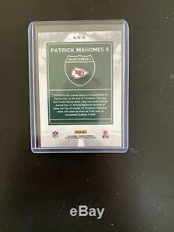 2018 Donruss Downtown Patrick Mahomes Sans Notes Chiefs De Kansas City Super Bowl Mvp