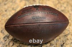 2019-20 Kansas City Chiefs Official Game Ball (warmup Used) Super Bowl LIV Champ