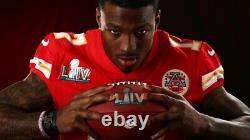 2019 Kansas City Chiefs 49ers Game Team Publié Jersey Super Bowl LIV 54 Sb Patch