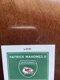 2020 Donruss Optic Patrick Mahomes Downtown Miami Superbowl Ssp Dt-29 Chiefs