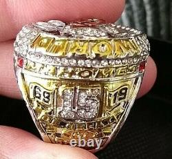 2020 Kansas City Chiefs Super Bowl Championnat LIV Mahomes Mvp Ring Sz 11 & Box