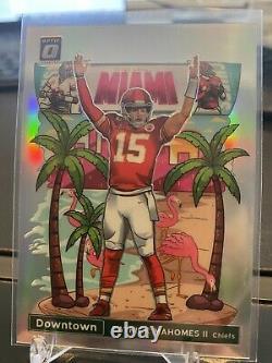 2020 NFL Optic Patrick Mahomes Ssp Chiefs Superbowl Edition Downtown Rare! Menthe