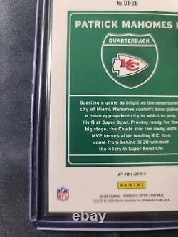 2020 NFL Optic Patrick Mahomes Sssp Chiefs Superbowl Edition Downtown Rare