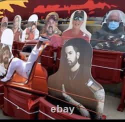 2021 Fan Super Bowl 55 Eminem Cardboard Cutout Tampa Bay Buccaneers LV Chefs