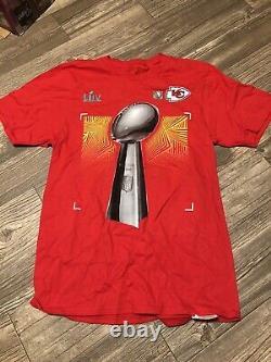 72 Kansas City Chiefs Super Bowl Chemises Manches Longues