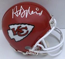 Andy Reid Signé Autographié Kansas City Chiefs Mini Casque Super Bowl Coa