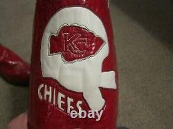 Bottes Kc Chiefs Sur Mesure Vintage, Faites À La Main Super Bowl IV Par Hyer Boot Co