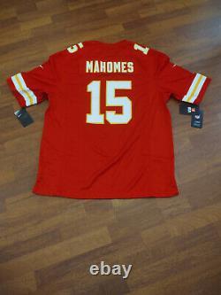Chefs # 15 Patrick Mahomes Super Bowl LIV Jersey Xl- Nouveauté Avec Tags De Nike