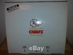 Danbury Mint Kansas City Chiefs Équipe Avion (2020 Champions Super Bowl!) Rare
