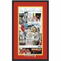 Encadré Kansas City Chiefs Étoiles Super Bowl LIV 54 Newspaper Cover 17x27 Photo