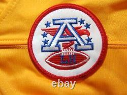 K C Chefs #15 Mahomets Nike NFL Superbowl 54 L Short Sleeve Football Jersey