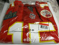 Kansas City Chiefs NFL Patrick Mahomes Nike Super Bowl LIV Jeu Jersey Officiel