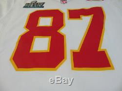 Kansas City Chiefs NFL Travis Kelce Nike Super Bowl LIV Jeu Maillot Blanc Medium