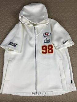 Kansas City Chiefs Nike Media Day Hoodie Team Issued Super Bowl 3xl Rare