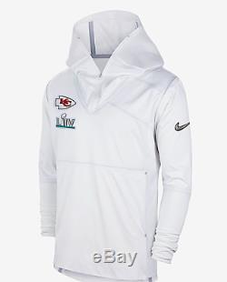 Kansas City Chiefs Nike Super Bowl LIV Nuit Des Médias Pull Over Jacket Dans La Main
